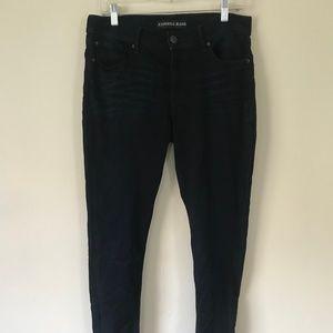 Dark Stretch Jean Legging Express 10 Long Skinny